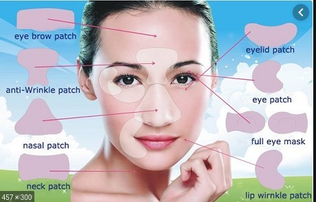 silicone anti wrinkle patches